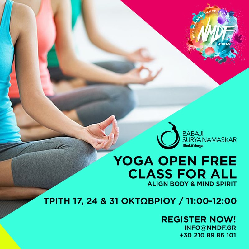 YOGA OPEN FREE CLASS FOR ALL